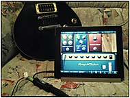 LesPaul, iPad2 a iRig - zkouška soft novinky NiK Color Efex 4