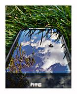 Zrkadlenie v tráve