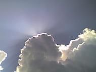 Slunce a Mraky
