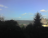 Výhled přes Dobřichovice