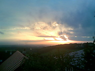by Fábo- západ slunce