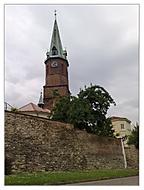 mraky nad Frýdkem-Farní kostel