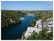vzpomínka na řeku Krka