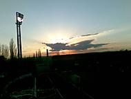 Západ slunce nad Bazalami