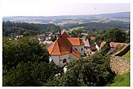 Humpolecko z hradu