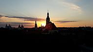 Sunrise over Trnava