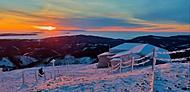 Východ na Sněžce