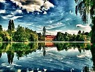 Nitra, Park - HDR