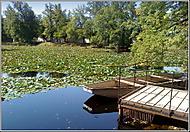 Zámecká zahrada Č. Krumlov