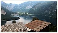 Jezero Hallstatt v Rakousku