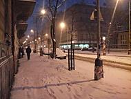 Prostě zasněžená ulice