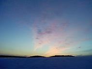 obloha po západu