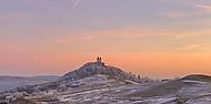 Kalvária - západ slnka