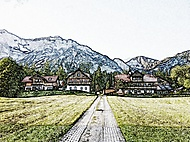 Statek - Dachstein