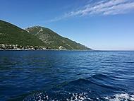 Chorvatsko z lodě