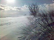 Vítr a sníh
