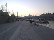 Podvečer u Vltavy