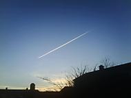letiaci objekt na oblohe..