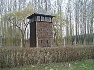 Auschwitz Birkenau-Strážní věž