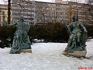 sousoší v lužánkách-Brno