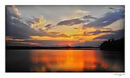 Západ slunce na Velkém Dářku.