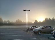 Ranní mlha... Pokus o hdr