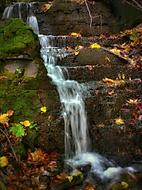 Vodopád Zlatého potoka
