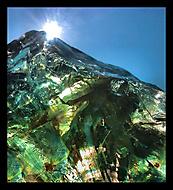 skleněná hora