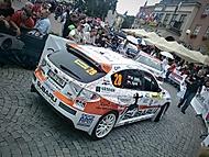 Atmosfera před Barum Czech Rally Zlín 2012