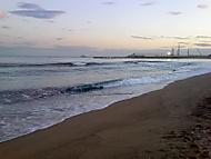 Pláž v Barceloně