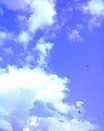 Nebe nad  Prostějovem