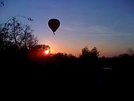 Balón nad lesem