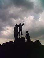 na vrcholu