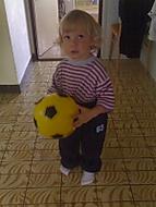 Bratránek Pája (Velkej fotbalista) :-)