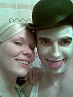 jak na mě mončík testovala masku :)
