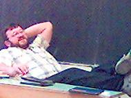 Náš učitel při hodině
