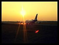 747 se připravuje k odletu