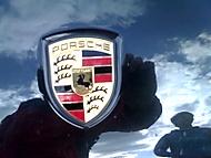 Logo Porsche Cayene S-Turbo