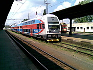 Mašina - při čekání na vlak :-)
