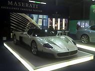 Maserati  MC 12 na výstavišti Brno.