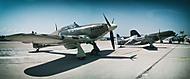 Hawker Hurricane, Morane Saulnier 406 a Dakota DC-47
