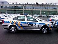 New police cars / nová policejní auta