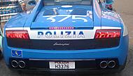 Policejní Italské Lambo