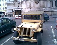 jeep  armies (džíp americké armády)