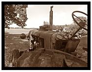 Traktor Zetor-v rozkladu, ale stále funkční :)