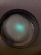 inteligentna plastelina po 30sec nabijania diodou mobilu, fotene v tme s di