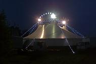 Cirkus Medrano v noci