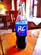 ani ne tak RC cola jako lahev byla mým centrem pozornosti: