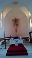 slunce v kostele...