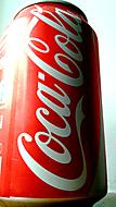Coca Cola v plechovce